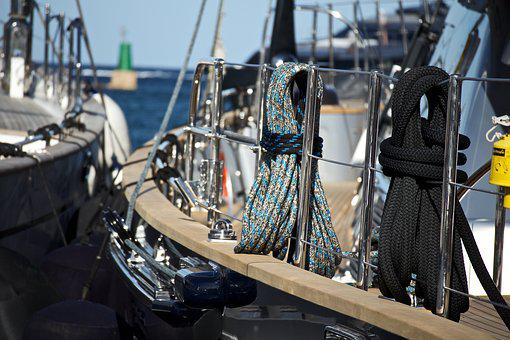 Yacht, Nautica, Luxury, Tourism, Boat, Sea, Rope