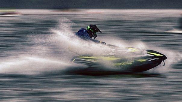 Jet Ski, Jetski Race, Water Sports, Motor Boat Race