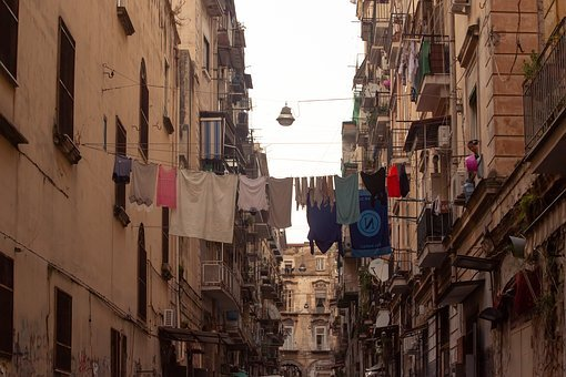 Buildings, City, City Space, Urban, Napoli, Naples