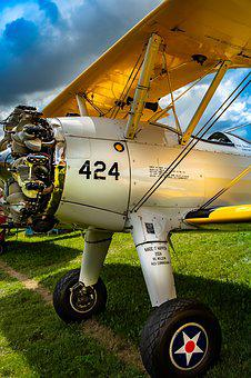 Vintage, Aviation, Aircraft, Classic, Propeller