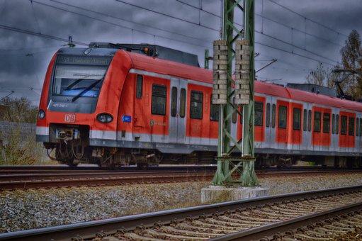 S Bahn, Train, Railway, Public Means Of Transport