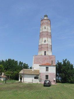 Lighthouse, Light, Building, Shabla, Cape, Cape Shabla