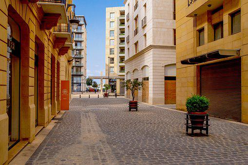 Street, Pedestrian Street, Paved, Shop, Store, Beirut