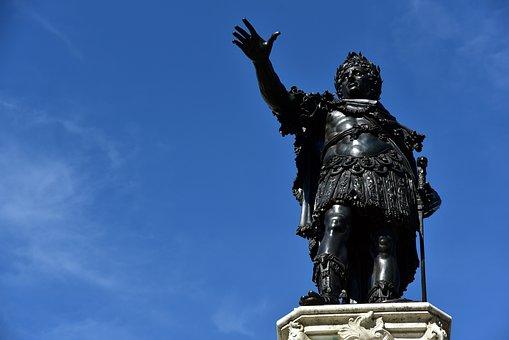 Augsburg, Augustus, Augustus Fountain, Statue, Romans
