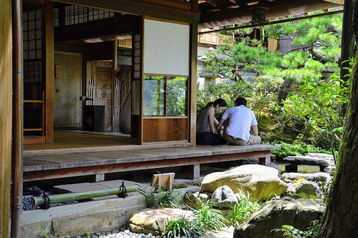 Japan, House, Architecture, Japanese, Garden, Temple