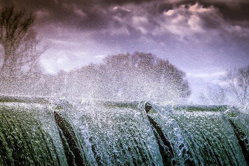 The Cascading Water, Waterfall, Tama