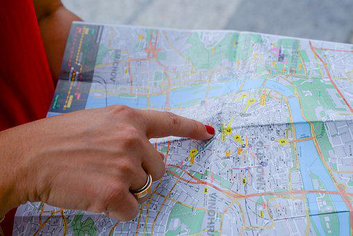 Map, Tourist, Travel, Tourism, Traveler, Vacation, Trip
