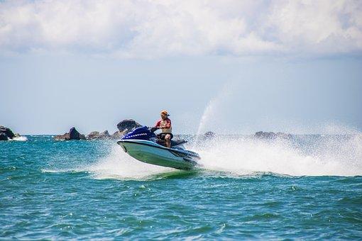 Water Activities, Water Scooter, Sea