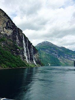 Fjords, Waterfalls, Norway