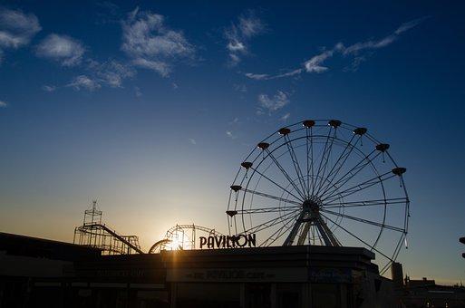 Fairground, Wheel, Fair, Entertainment, Fun, Ride