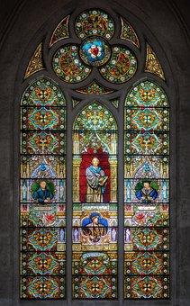 Window, Church, Dom, Church Window