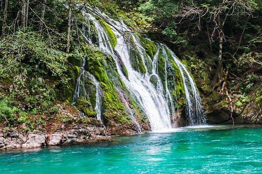 Canyon, Montenegro, Cascade, Mountains, Landscape