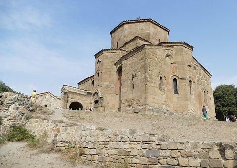 Georgia, Mtskheta, Church, Caucasus, Unesco