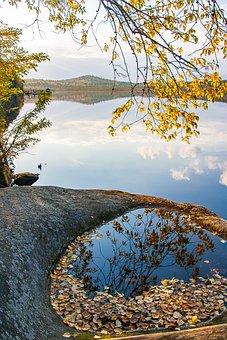 Lake, Ural, Nature, Autumn, Landscape, Travel, Cloud