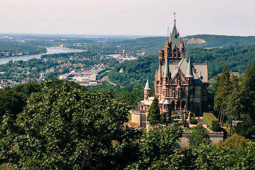 Siebengebirge, Dragon Rock, Dragon Castle, Rhine