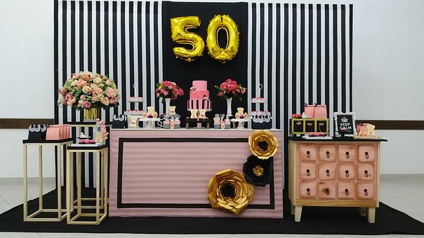 Decoration, Party, Fifty