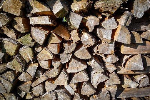 Pile Of Wood, Meter Beating, Firewood, Log, Burn
