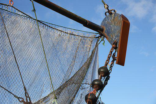 Fishing Net, Fishing Vessel, Fishing