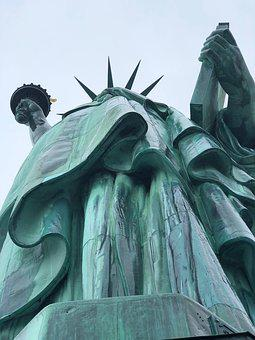 Statue Of Liberty, Freedom, Usa, America, Monument