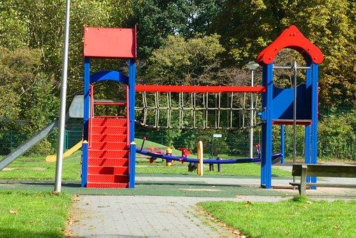 Children's Playground, Klimtoestel, Fun, Game, Colorful