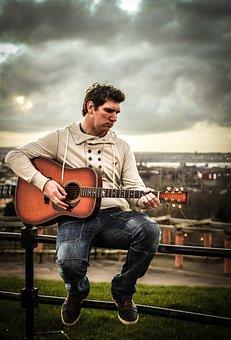 Liverpool, Guitar, Music, Man, Musician, Guitarist