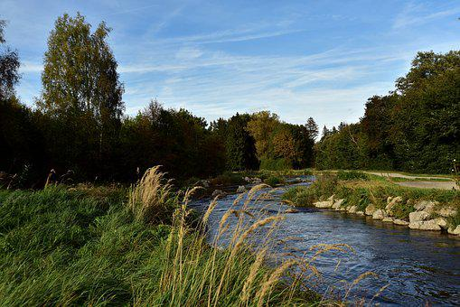 River, Bach, Water, Landscape, Nature, Creek, Scenic