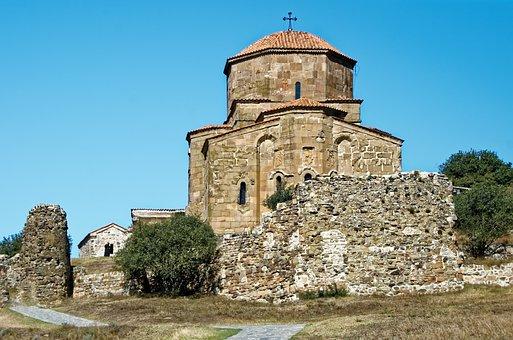 Georgia, Monastery Of Jvari, Mtskheta, Monastery