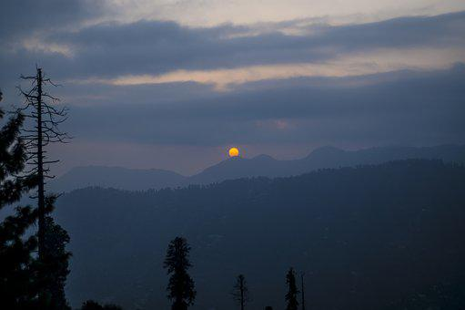 Sunset, Mountains, Nature, Landscape, Dawn, Scenic