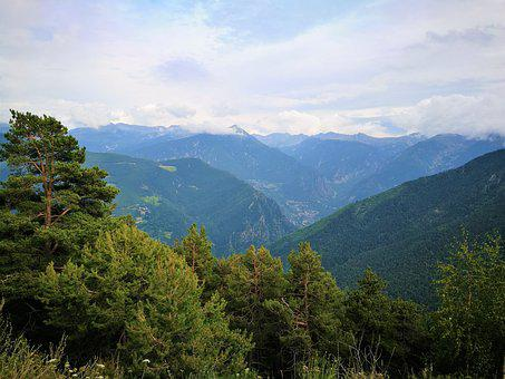 Andorra, Mountain, Landscape, Nature, Pyrenees, Pine