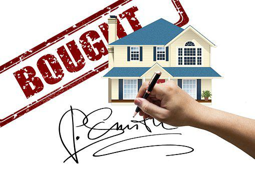 Sale, Sold, Hand, Signature, House, Purchase