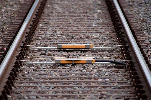 Rails, Modern, Railway, Transport, Traffic, Travel