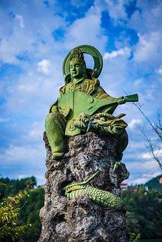 Statue, Stone Statues, Sculpture, Art, Stone, Religion