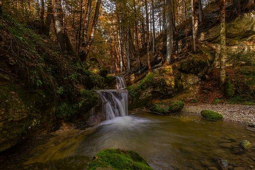 Nature, Waterfall, Landscape, River, Cascade, Creek