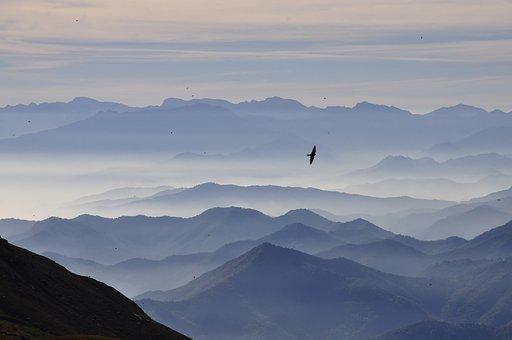 Landscape, Clouds, Fog, Sky, Nature, Outdoors, Outdoor