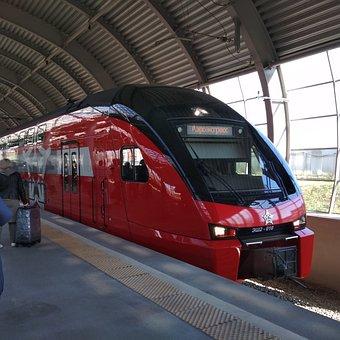 Train, Aeroexpress, Moscow