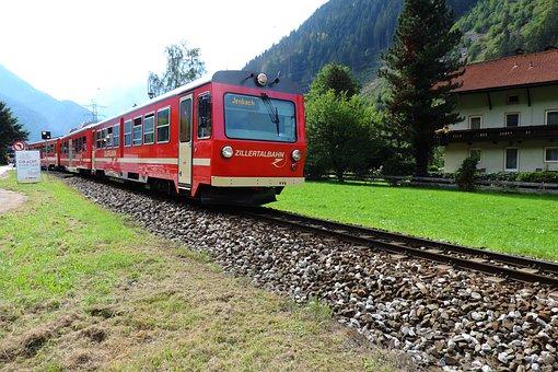 Zillertalbahn, Train, Zillertal, Austria