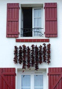 Window, Shutter, Architecture, Euskal Herria, Ezpeleta