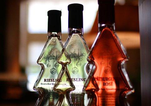 Bottle, Backlight, Wine Bottle, Wines, Wine, Glass