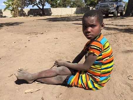 Girl, African, Africa, Black, Child, Poverty, Culture