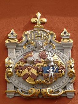 Coat Of Arms, Alliance Coat, Vicarage, Schlossplatzfest