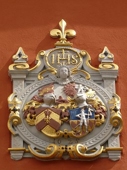 Coat Of Arms, Alliance Coat, Vicarage, Schlossplatzfest