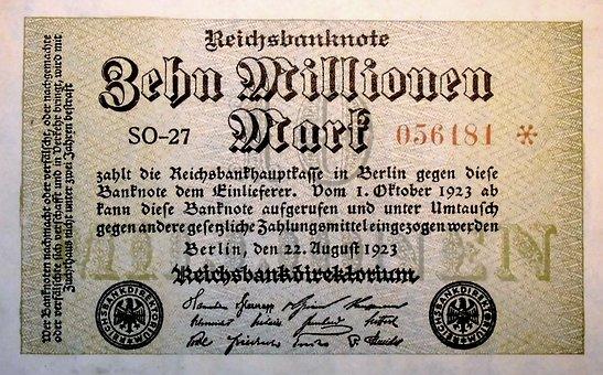Inflationsgeld, 1923, Berlin, Worthless, Inflation