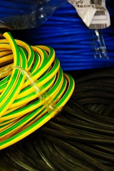 Black, Blue, Business, Cable, Cables, Electric