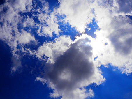 Blue, Skies, Clouds, Sky, Blue Sky Clouds, Nature