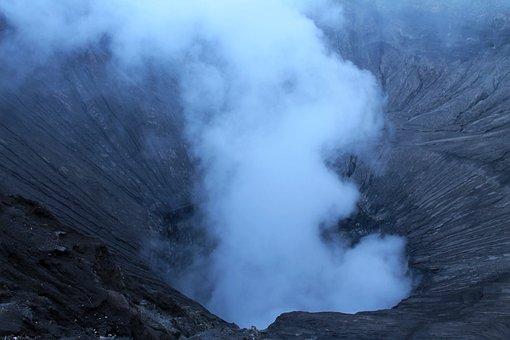 Gunung, Bromo, East Java, Java, Indonesia, Mountain