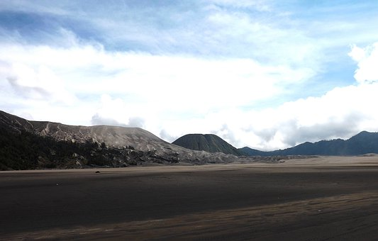 Bromo, Mountains, Nature, Landscape, Summer, Beautiful