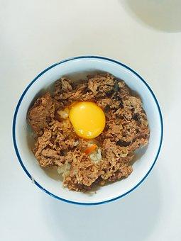 Eggs, Food, Bulgogi, Bob, Delicious, Korean, Plate