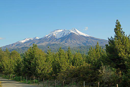 Volcano, Calbuco, Calbuco Volcano, Lake Llanquihue