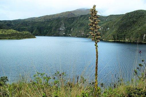 Cotacachi, Volcano, Ecuador, Caldera, Crater Lake