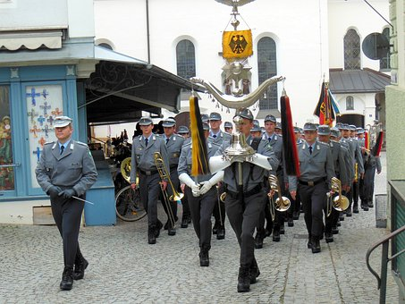 Chapel, Military Chapel, Move, Musicians, Bundeswehr